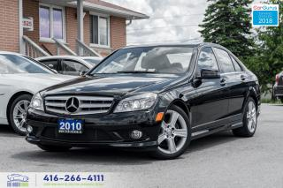 Used 2010 Mercedes-Benz C-Class C300 AWD NAVIGPS CERTIFIED SERVICED CLEAN LOW KM'S for sale in Bolton, ON