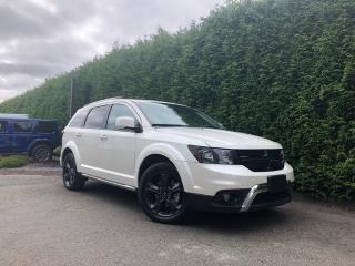 Used 2018 Dodge Journey Crossroad AWD + 7 PASSENGER + NAV + DVD PLAYER + SUNROOF + NO EXTRA DEALER FEES for sale in Surrey, BC