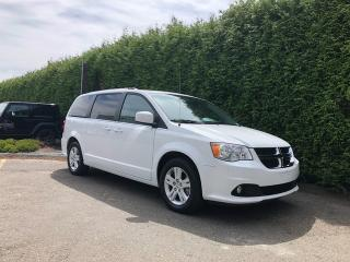 Used 2018 Dodge Grand Caravan Crew Plus for sale in Surrey, BC