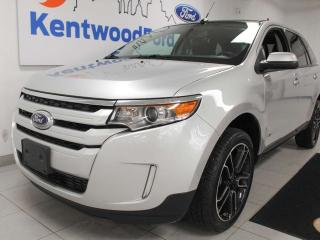 Used 2013 Ford Edge SEL AWD with NAV, sunroof, heated power leather seats, back up cam for sale in Edmonton, AB