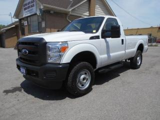 Used 2016 Ford F-250 XL 4X4 Regular Cab 8Ft Box Certified ONLY 52,000Km for sale in Rexdale, ON