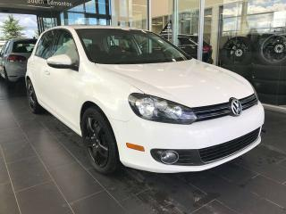 Used 2012 Volkswagen Golf COMFORTLINE, ACCIDENT FREE, POWER HEATED LEATHER SEATS, STEERING WHEEL CONTROLS, SUNROOF for sale in Edmonton, AB