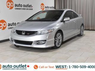 Used 2010 Honda Civic Cpe SI, FWD, 6 SPEED MANUAL, POWER WINDOWS, A/C, AM/FM RADIO for sale in Edmonton, AB