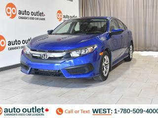 Used 2018 Honda Civic Sedan One owner!! LX, FWD, Heated front seats, Backup camera for sale in Edmonton, AB