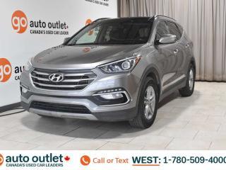 Used 2017 Hyundai Santa Fe Sport Sport, AWD, Heated front & leather seats, Heated steering wheel, Backup camera for sale in Edmonton, AB