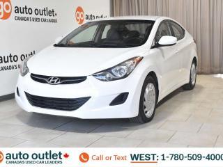 Used 2013 Hyundai Elantra GL, Fwd, Heated front seats, Satellite radio for sale in Edmonton, AB