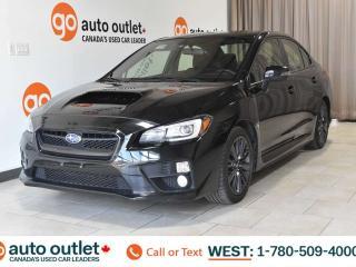 Used 2016 Subaru WRX WRX, AWD, 6 speed manual, Heated front seats, Sunroof, Backup camera for sale in Edmonton, AB