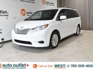 Used 2017 Toyota Sienna LE, AWD, POWER WINDOWS & SEATS, STEERING WHEEL CONTROLS, CRUISE CONTROL, FRONT & REAR A/C, HEATED FRONT SEATS, AM/FM RADIO, SATELLITE RADIO, BACKUP CAMERA for sale in Edmonton, AB