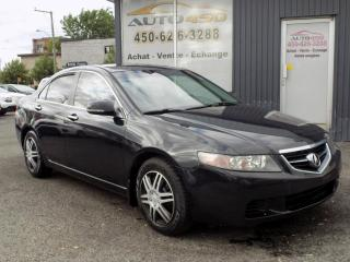 Used 2005 Acura TSX ***AUTOMATIQUE,CUIR,TOIT OUVRANT*** for sale in Longueuil, QC