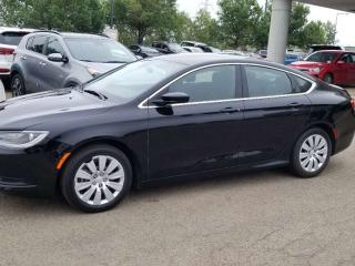 Used 2015 Chrysler 200 LX; BLUETOOTH, KEYLESS ENTRY/START, CRUISE CONTROL, A/C AND MORE for sale in Edmonton, AB