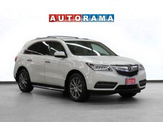Used 2014 Acura MDX Elite AWD Navigation Leather Sunroof Backup Cam for sale in Toronto, ON