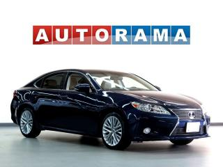 Used 2013 Lexus ES 350 Navigation Leather Sunroof Backup Cam for sale in Toronto, ON