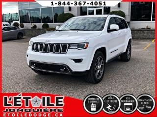 Used 2018 Jeep Grand Cherokee LIMITED STERLING EDITION, DEMARREUR A D for sale in Jonquière, QC