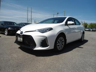Used 2018 Toyota Corolla AUTO B-TOOTH B-CAMERA LINE DEP NOT X-RENTAL H-SEAT for sale in Oakville, ON