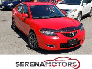 Used 2008 Mazda MAZDA3 GS | AUTO | ONE OWNER | NO ACCIDENTS | LOW KM for sale in Mississauga, ON