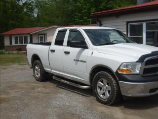 Used 2012 RAM 1500 ST  Quad Cab for sale in Fenelon Falls, ON