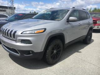 Used 2014 Jeep Cherokee LTD for sale in Val-D'or, QC