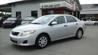 Used 2010 Toyota Corolla Berline 4 portes, boîte manuelle, CE for sale in Sherbrooke, QC