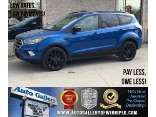 Used 2017 Ford Escape SE *AWD/Htd Seats/Navi/Backup Cam for sale in Winnipeg, MB