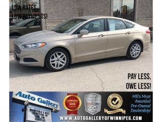 Used 2016 Ford Fusion SE *Backup Camera/Bluetooth for sale in Winnipeg, MB