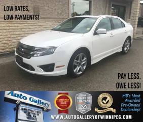 Used 2011 Ford Fusion Sport *AWD/Lthr/Sunroof/V6 for sale in Winnipeg, MB
