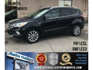 Used 2017 Ford Escape Titanium *AWD/Htd Lthr/Pano Roof/Navi for sale in Winnipeg, MB