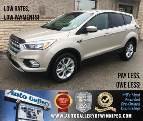 Used 2017 Ford Escape SE *AWD/Htd Seats/Backup Cam/Bluetooth for sale in Winnipeg, MB