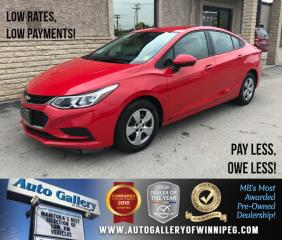 Used 2016 Chevrolet Cruze LS *Backup Camera for sale in Winnipeg, MB