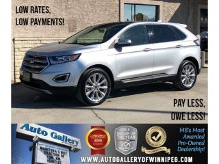 Used 2017 Ford Edge Titanium *AWD/Bluetooth/Htd Lthr/Navi/V6 for sale in Winnipeg, MB