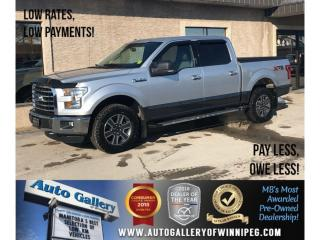 Used 2015 Ford F-150 XLT XTR *4X4/Navi/Backup Cam/B.tooth/Htd for sale in Winnipeg, MB