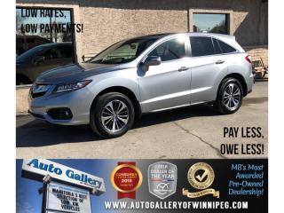 Used 2017 Acura RDX Elite PKG *AWD/Htd Lthr/Navi/Bluetooth for sale in Winnipeg, MB