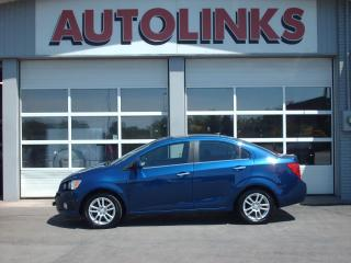 Used 2013 Chevrolet Sonic LT  sunroof /5 speed.. front tow bar for sale in St Catharines, ON