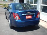 2013 Chevrolet Sonic LT  sunroof /5 speed.. front tow bar