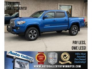 Used 2017 Toyota Tacoma TRD Sport *4X4/6Spd/Navi/Bluetooth for sale in Winnipeg, MB