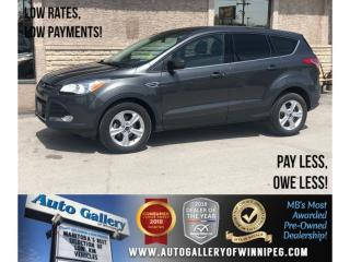 Used 2015 Ford Escape SE *Htd Seats/Bluetooth/Backup Cam for sale in Winnipeg, MB