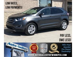 Used 2018 Ford Edge SEL *AWD/Htd Lthr/Navi/Pano Roof for sale in Winnipeg, MB