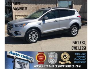 Used 2017 Ford Escape SE *AWD/Bluetooth/Htd Seats/Backup Cam for sale in Winnipeg, MB