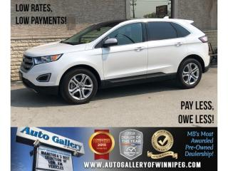 Used 2018 Ford Edge Titanium *AWD/Htd Seats/Navi/Bluetooth for sale in Winnipeg, MB