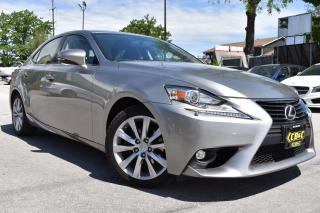 Used 2015 Lexus IS 250 BLUETOOTH - AWD - LEATHER- NO ACCIDENTS for sale in Oakville, ON
