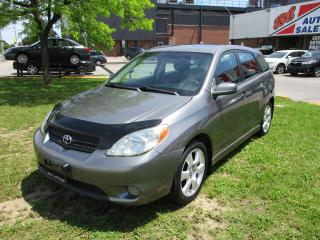 Used 2008 Toyota Matrix XR~MANUAL~SUNROOF~POWER OPTIONS~CERTIFIED for sale in Toronto, ON