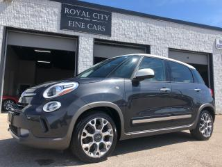 Used 2014 Fiat 500L Trekking Remote Start Leather HeatedSeats Panoroof for sale in Guelph, ON
