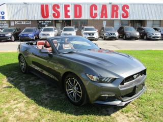 Used 2015 Ford Mustang GT Premium V8 5L~6 SPEED~LEATHER~NAV.~BACK-UP CAM. for sale in Toronto, ON