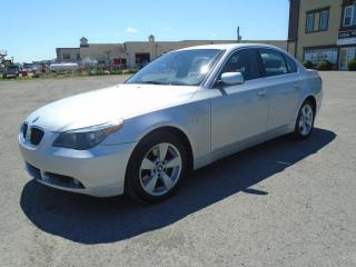 Used 2006 BMW 5 Series Berline 4 portes, traction intégrale, 52 for sale in Mirabel, QC