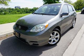 Used 2004 Toyota Matrix XR - 1 OWNER / DEALER MAINTAINED / DRIVES EXCELLEN for sale in Etobicoke, ON