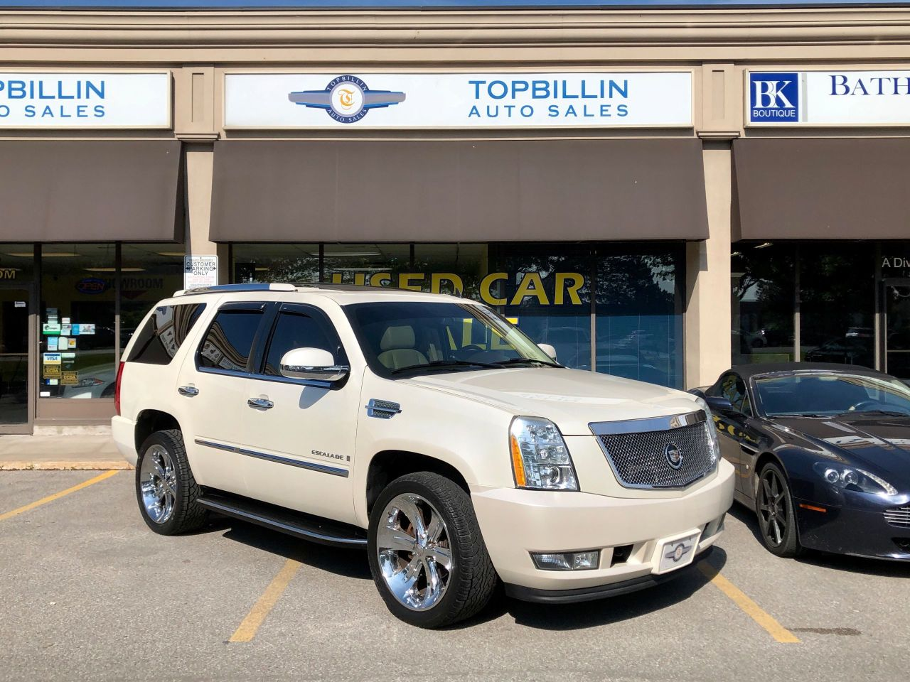 2007 Cadillac Escalade 22 Inch Wheels