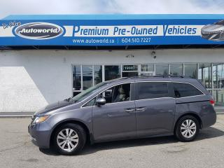 Used 2015 Honda Odyssey *Rear DVD, EX-L, 8 Passenger* for sale in Langley, BC