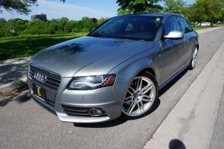 Used 2011 Audi A4 S-LINE / LOADED / 1 OWNER / NAVIGATION for sale in Etobicoke, ON