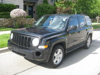 Used 2010 Jeep Patriot NORTH EDIT, CERTIFIED, ONE OWNER, NO ACCIDENTS for sale in Toronto, ON