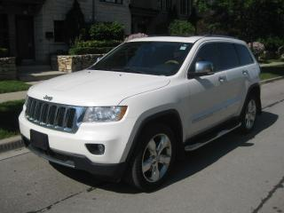 Used 2012 Jeep Grand Cherokee OVERLAND, NAVI BACK CAM, LEATHER, NO ACCIDENTS for sale in Toronto, ON