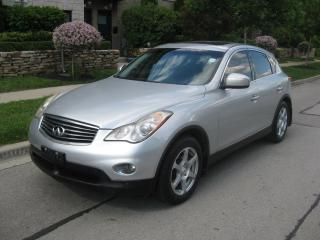 Used 2008 Infiniti EX35 AWD, NO ACCIDENTS, CERTIFIED, ROOF, LEATHER for sale in Toronto, ON